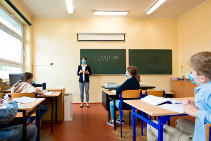 AiroDoctor Schule Coronavirus Pandemie
